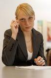 τα γυαλιά η γυναίκα Στοκ φωτογραφία με δικαίωμα ελεύθερης χρήσης