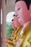 Τα γλυπτά Guanyin στο ναό Si Kek Lok είναι ένας βουδιστικός ναός σε Penang, και είναι ένας από τους πιό γνωστούς ναούς στο νησί Στοκ Φωτογραφίες