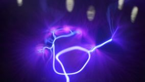 Τα δάχτυλα κινούν τις ηλεκτρικές απαλλαγές που προσελκύονται σε τα απόθεμα βίντεο