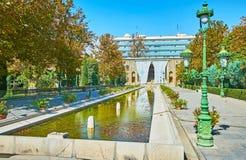 Τα δημοφιλή ορόσημα της Τεχεράνης στοκ εικόνα