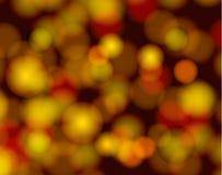 Τα διανυσματικά αφηρημένα ελαφριά σημεία, χρυσά ακτινοβολούν εκλεκτής ποιότητας υπόβαθρο στοκ εικόνες