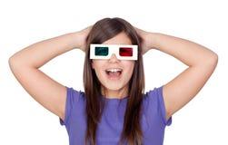 τα διαστατικά γυαλιά κο&rh στοκ φωτογραφία με δικαίωμα ελεύθερης χρήσης