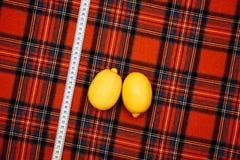 Τα διαφορετικά πράγματα ραφτών ατελιέ σχεδίου κλουβιών ατόμων ραψίματος μαλλιού υφάσματος νημάτων χρωματίζουν το πορτοκαλί κίτριν Στοκ Φωτογραφία