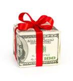 τα δολάρια έννοιας κιβωτί& Στοκ εικόνα με δικαίωμα ελεύθερης χρήσης