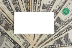 τα δολάρια καρτών εμείς λ&ep Στοκ φωτογραφία με δικαίωμα ελεύθερης χρήσης