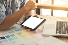 Τα δείγματα χρώματος, swatch χρώματος δείγματα, σύρουν την αρχιτεκτονική, γραφική Στοκ Εικόνες