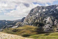 Τα εθνικά βουνά Durmitor πάρκων, Μαυροβούνιο στοκ φωτογραφία