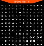 Τα εικονίδια θέτουν το αριθ. 04 Στοκ φωτογραφία με δικαίωμα ελεύθερης χρήσης