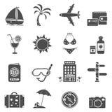 τα εικονίδια που τίθενται το ταξίδι Στοκ φωτογραφία με δικαίωμα ελεύθερης χρήσης