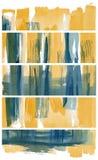 τα εμβλήματα που τίθενται το watercolor Στοκ φωτογραφίες με δικαίωμα ελεύθερης χρήσης