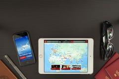 Τα εμιράτα App Στοκ φωτογραφία με δικαίωμα ελεύθερης χρήσης