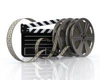 τα εξέλικτρα ταινιών δηλών&omic Στοκ εικόνες με δικαίωμα ελεύθερης χρήσης