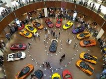Τα εξωτικά αυτοκίνητα πολυτέλειας για την πώληση στοκ εικόνες με δικαίωμα ελεύθερης χρήσης