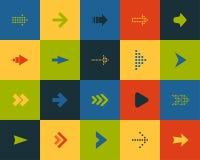 Τα επίπεδα εικονίδια θέτουν 28 διανυσματική απεικόνιση