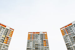 τα επίπεδα κτημάτων στεγάζουν την πραγματική πώληση μισθώματος Στοκ φωτογραφία με δικαίωμα ελεύθερης χρήσης