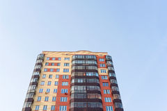 τα επίπεδα κτημάτων στεγάζουν την πραγματική πώληση μισθώματος Στοκ Εικόνα