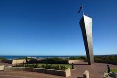 Τα επιτύμβια στήλη Μνημείο σε HMAS Σίδνεϊ Geraldton Δυτική Αυστραλία Αυστραλοί στοκ φωτογραφίες με δικαίωμα ελεύθερης χρήσης