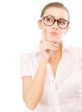 τα επιχειρησιακά γυαλιά  Στοκ εικόνες με δικαίωμα ελεύθερης χρήσης