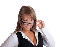 τα επιχειρησιακά γυαλιά  Στοκ Εικόνα