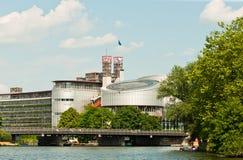 τα ευρωπαϊκά ανθρώπινα δικαιώματα δικαστηρίων Στοκ εικόνα με δικαίωμα ελεύθερης χρήσης