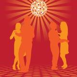 τα ζεύγη χορεύουν Στοκ Εικόνες