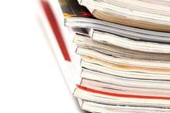 Τα ζωηρόχρωμα περιοδικά κλείνουν επάνω στοκ φωτογραφίες με δικαίωμα ελεύθερης χρήσης
