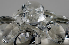 Τα διαμάντια καθαρίζουν Στοκ Φωτογραφίες