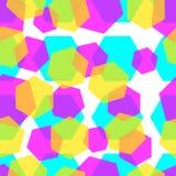 Τα διαμάντια χρωματίζουν το αφηρημένο σχέδιο υποβάθρου Στοκ φωτογραφίες με δικαίωμα ελεύθερης χρήσης
