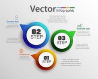Τα διανυσματικά εικονίδια σχεδίου και μάρκετινγκ infographics μπορούν να χρησιμοποιηθούν για το σχεδιάγραμμα ροής της δουλειάς, δ Στοκ φωτογραφία με δικαίωμα ελεύθερης χρήσης