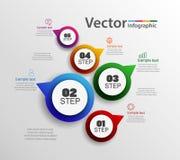 Τα διανυσματικά εικονίδια σχεδίου και μάρκετινγκ infographics μπορούν να χρησιμοποιηθούν για το σχεδιάγραμμα ροής της δουλειάς, δ Στοκ Φωτογραφίες