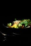 Τα ιαπωνικά ανακατώνουν τα λαχανικά τηγανητών Στοκ Φωτογραφία
