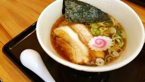 Τα ιαπωνικά τρόφιμα με το χοιρινό κρέας Στοκ Φωτογραφίες