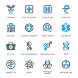 Τα ιατρικά & εικονίδια υγειονομικής περίθαλψης θέτουν 1 Στοκ Εικόνες