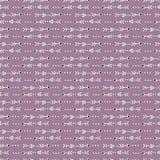 Τα ιερά λωρίδες δεικτών βελών δίνουν το συρμένο άνευ ραφής διανυσματικό σχέδιο ελεύθερη απεικόνιση δικαιώματος