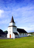 τα ισλανδικά εκκλησιών Στοκ Εικόνες