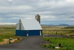 τα ισλανδικά εκκλησιών στοκ φωτογραφίες