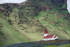 τα ισλανδικά εκκλησιών στοκ εικόνα με δικαίωμα ελεύθερης χρήσης
