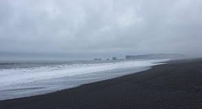 τα ισλανδικά παραλιών στοκ εικόνες