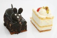 τα κέικ αποβουτυρώνουν δύο Στοκ Εικόνα