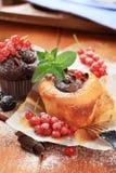 τα κέικ σφουγγίζουν νόστ&iot Στοκ φωτογραφία με δικαίωμα ελεύθερης χρήσης
