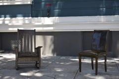 Τα καθημερινά οικιακά αντικείμενα γίνονται δημόσια τέχνη σε μια πολύ δημόσια θέση, 5 Στοκ Φωτογραφία
