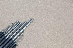 Τα καθορισμένα εργαλεία διατρήσεων καρφιτσών ρόλων για αφαιρούν την καρφίτσα ή το σύρτη οποιουδήποτε μηχανικού Στοκ Φωτογραφίες