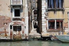Τα κανάλια της Βενετίας Στοκ Εικόνα