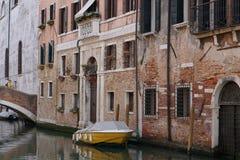 Τα κανάλια της Βενετίας Στοκ Φωτογραφία