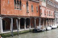 Τα κανάλια της Βενετίας Στοκ φωτογραφίες με δικαίωμα ελεύθερης χρήσης