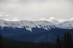 Τα καναδικά δύσκολα βουνά Στοκ φωτογραφία με δικαίωμα ελεύθερης χρήσης