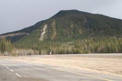 Τα καναδικά δύσκολα βουνά Στοκ Εικόνες