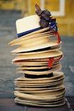 Τα καπέλα Στοκ Φωτογραφίες