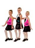 Τα κατώτερα κορίτσια τρυπούν την ομάδα χορού στοκ φωτογραφίες με δικαίωμα ελεύθερης χρήσης