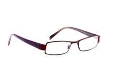 τα καφετιά γυαλιά απομόνωσαν σύγχρονο Στοκ φωτογραφία με δικαίωμα ελεύθερης χρήσης